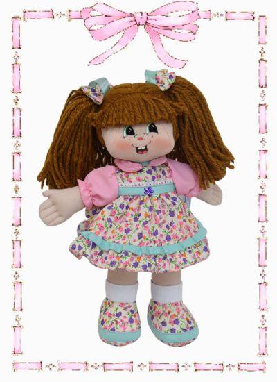 muñeca de trapo kandy clasica