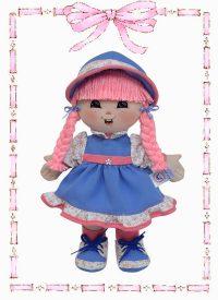 muñeca de trapo juliana gomela