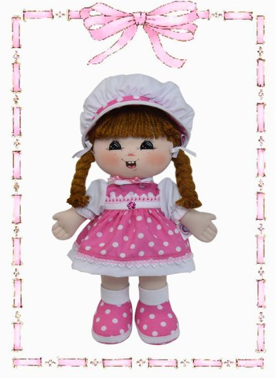muñeca de trapo juliana clasica