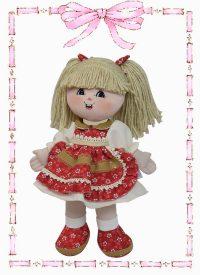 muñeca de trapo dayana country