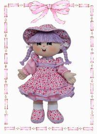 muñeca de trapo katy clasica