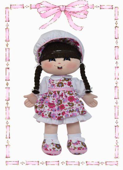 muñeca de trapo patty clasica