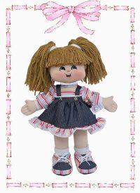 muñeca de trapo alejandra gomela