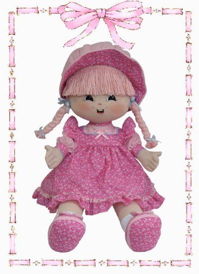 muñeca de trapo karol clasica