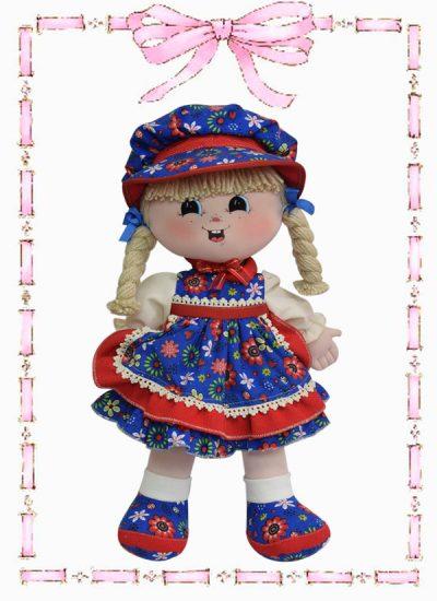 muñeca de trapo minina country