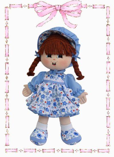 muñeca de trapo minina clasica