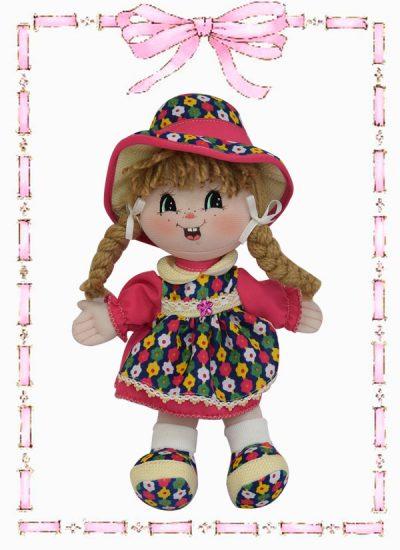 muñeca de trapo luisita country