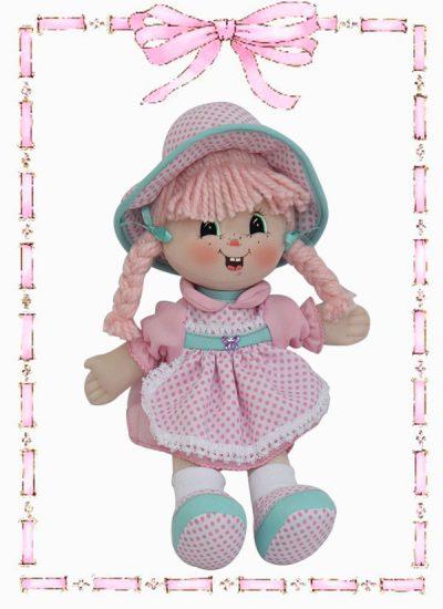 muñeca de trapo luisita clasica