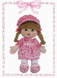 muñeca de trapo yulis clasica