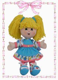 muñeca de trapo yulis gomela