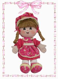 muñeca de trapo yulis country