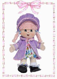 muñeca de trapo yulis abrigo