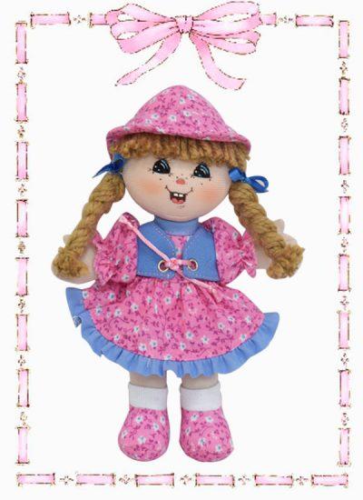 muñeca de trapo sussy clasica