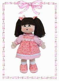 muñeca de trapo alejandra clasica