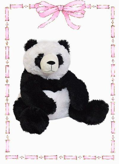 muñeco en felpa oso gloton panda n 4