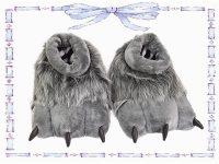 babuchas de garra gris talla 36