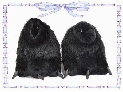 babuchas de garra negra talla 42