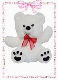 muñeco de felpa oso huellas n4