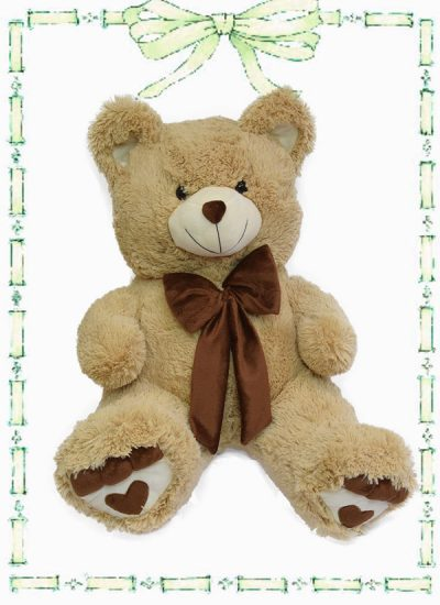 muñeco de felta oso huellas n4